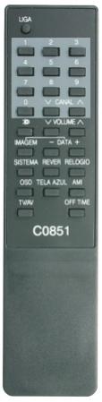 Controle remoto tv sharp c 0881 mxt