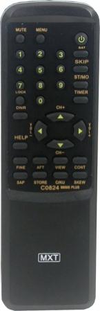 Controle remoto quasar 0824/9800s plus