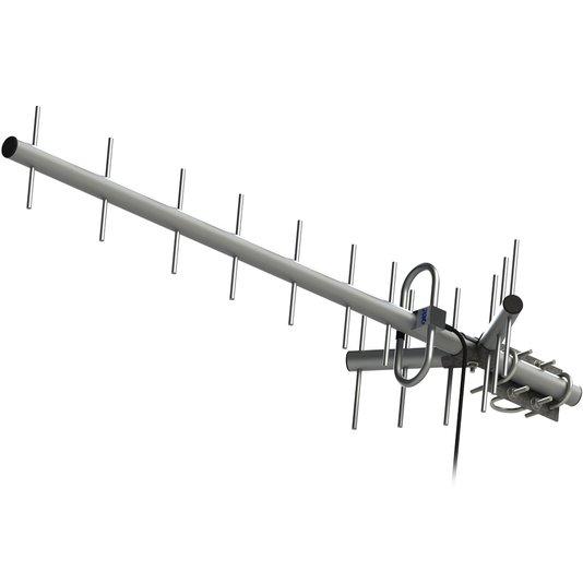 Antena de celular rural proeletronic 14db
