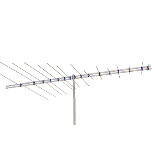 Antena linear recep sinal tv digital vhf log b