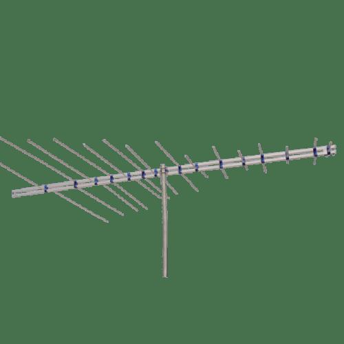 Antena linear recep sinal tv digital vhf log b
