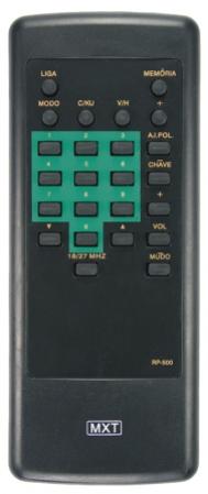 Controle remoto amplimatic mxt