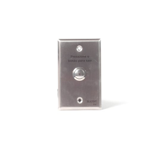 Acionador / botoeira 800 de embutir inox 4x2 - sulton
