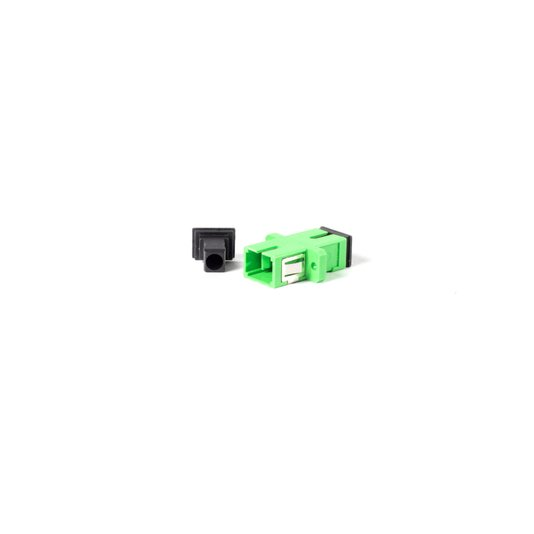 Adaptador sc/apc com flange p/ caixa de distrib.