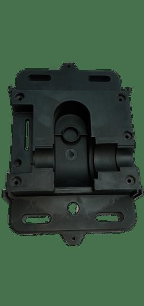 Base da maquina deslizante preta slider-pl - rcg
