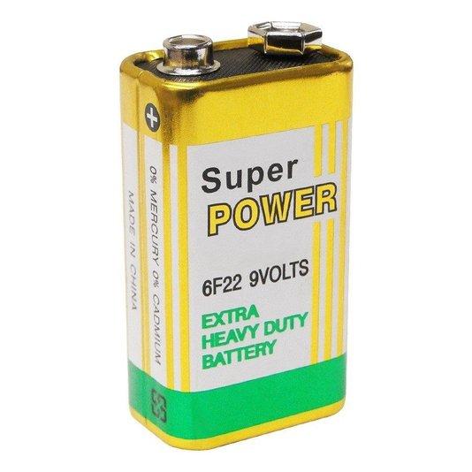 Bateria 9v comum  - hcl 1/20/50