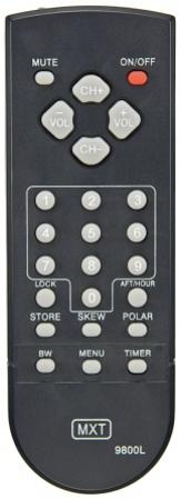 Controle remoto quasar 9800/9800l/9800lplus mxt