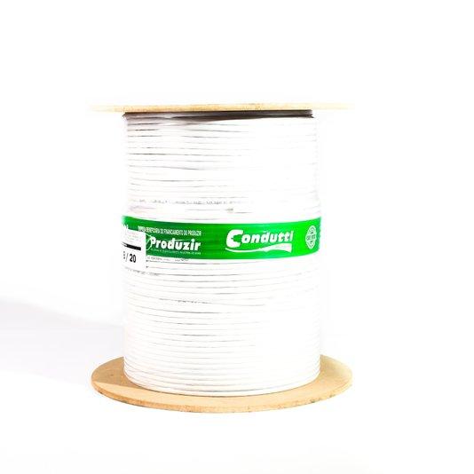 Cabo coaxial rg 59 67% bobina c/300 mt br 1/2/3