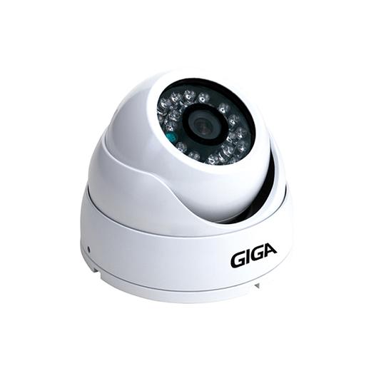 Camera dome 30mt metal 2.6mm ip66 open hd plus 720p ir 1/4 - 1/8/16