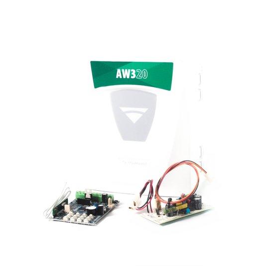 Central de alarme aw3 03 + 20 setores wifi - compatec