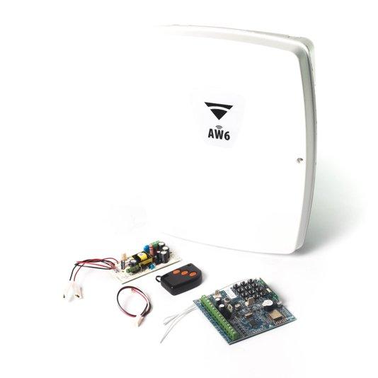 Central de alarme aw6 06 setores wifi 1/3/5 (simples)