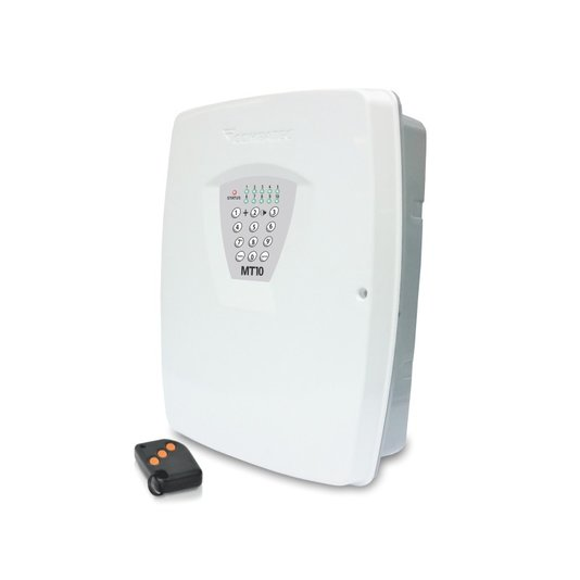 Central de alarme monitorada  mt 10 c/ trafo 1,2,4