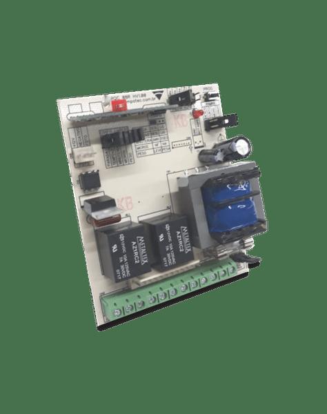 Central de comando na/nf 299 mhz c/ borne 1/3/5