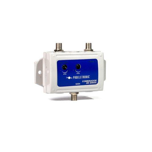 Combinador de sinais vhf + ch3 pqcb-2003