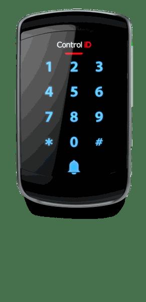 Controlador de acesso id touch ip 65 ask 1/2/3