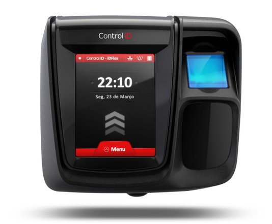 Controlador de acesso id flex lite bio prox ask 125 k