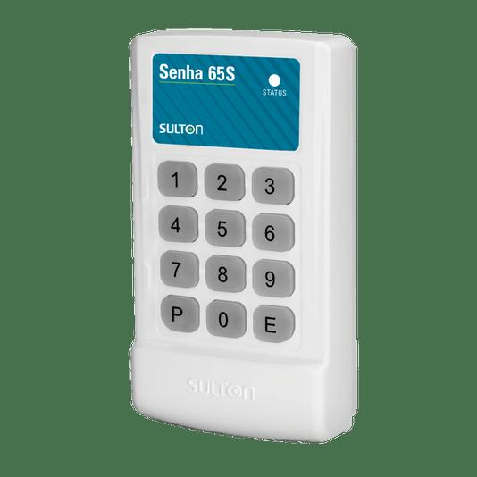 Controle de acesso teclado senha 65s s/fio e c/fio - sulton 1/2/5
