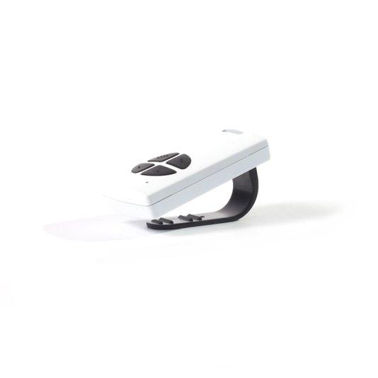 Controle digital key 6p20 433,92 branco com botão pr