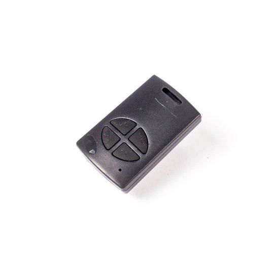 Controle digital key 6p20 433,92 preto/botão preto