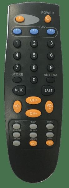 Controle remoto br-02 rec elsys bedinsat 1/10/30