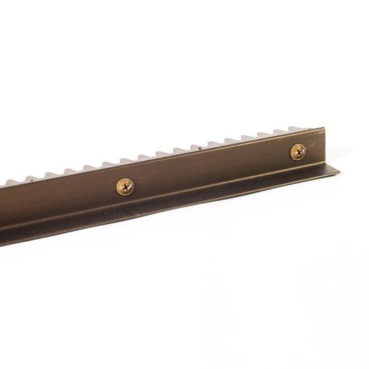 Cremalheira alumínio giltar bronze claro-1002 1/10/20