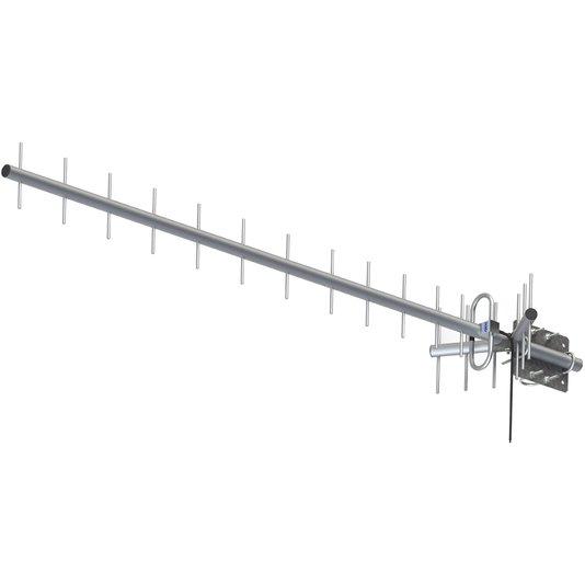 Antena de celular rural proeletronic 17db 1/2/3