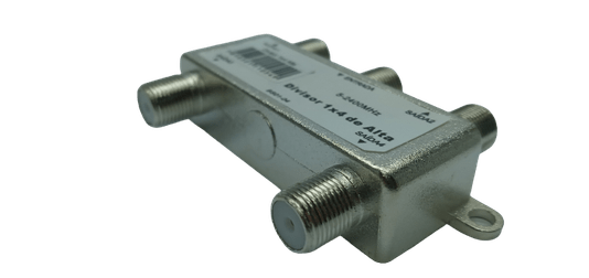 Divisor 4 saidas 5-2.400 mhz conectech unidade 1/10/20