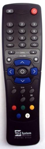 Controle remoto tele system original