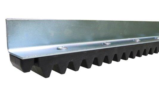 Cremalheira ferro industrial 1,5 m linha leve 1/6/10