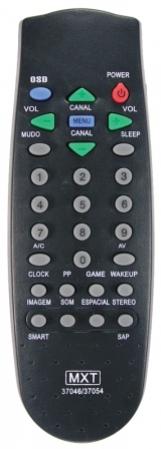 Controle remoto tv philips mxt