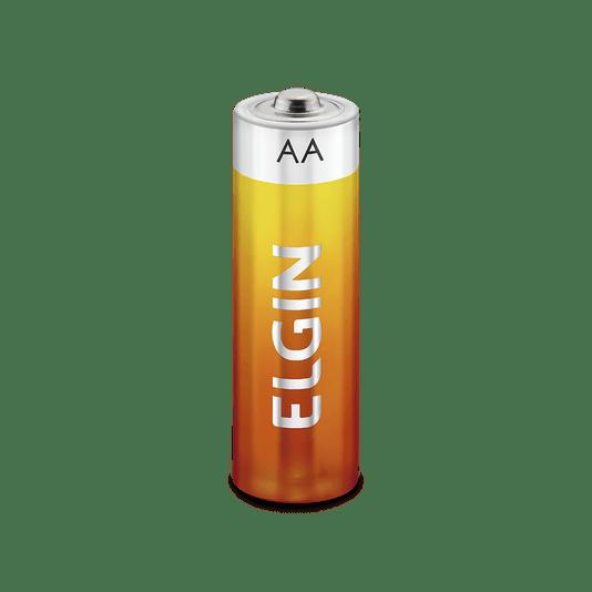 Pilha aa de zinco - carvao pacote c/4  - 1/15/45