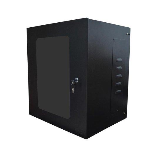 Mini rack 19' 12u x 400mm acrilico pr max eletron 1/2/