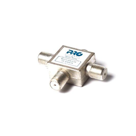 Misturador para antenas vhf + uhf proeletr0nic