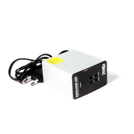 Modulador agil vhf/uhf/catv/cftv 1/3/5