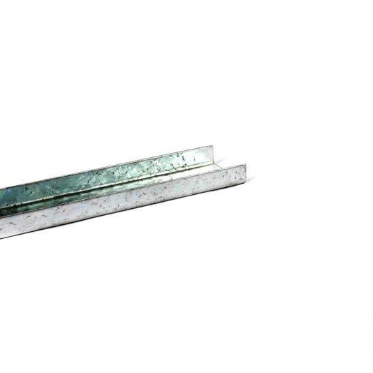 Perfil u para deslizante p/ corrente 1200 mm 1/10/30