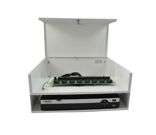 Rack box mid hd 16 canais (400mm) - max eletron 1/2/5