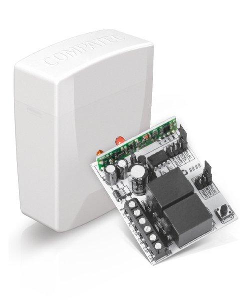 Receptor digital 02 canais 12/24 v 433,92 1/5/10