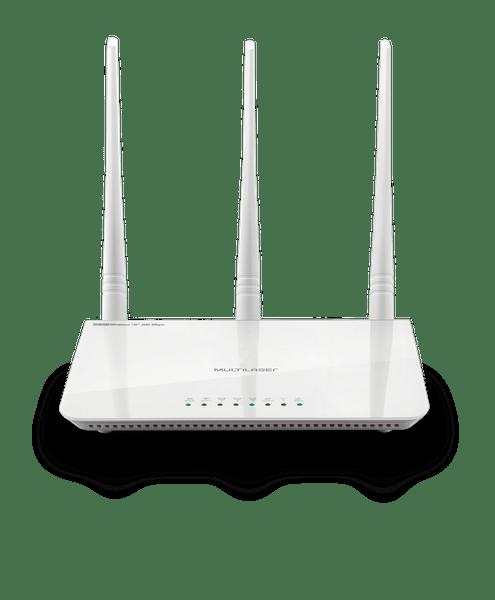 ROTEADOR 300MBPS IPV6 - 2.,4 GHZ -3 ANTENAS - MULTILASER 1/10/30