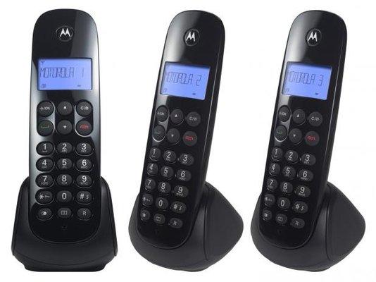 Telefone s/fio moto700 mrd3 dect dig c/id pr 1/5/10