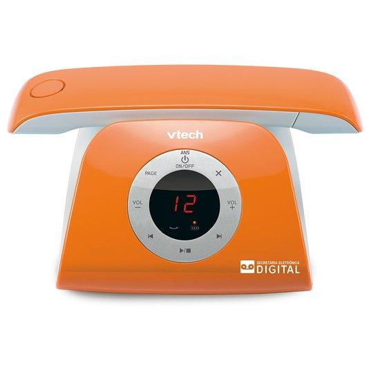Telefone s/fio retrophone-o c/ vv, id e se - laranja