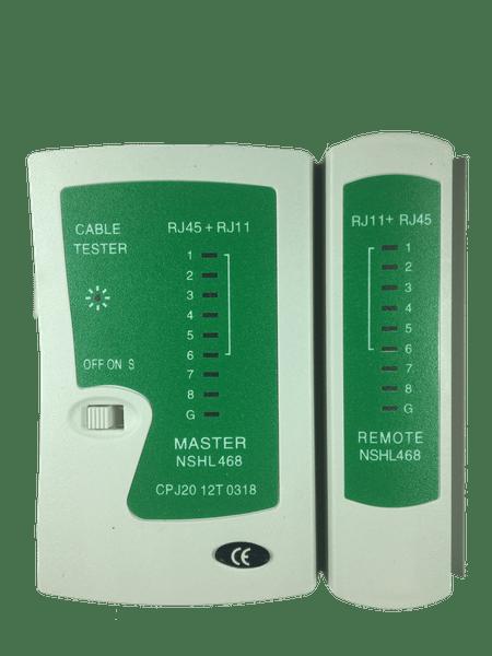 Testador para cabo rj45 e rj11 - fc fontes 1/2/3