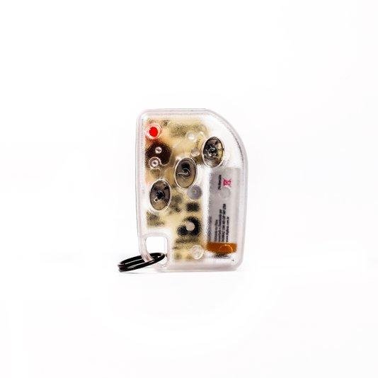 Transmissor rtht 433 mhz chaveiro transparente  1/10/20