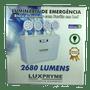 Luminaria emergencia 2.680 lumens 24v/8 1/3/5