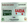 Placa de saida 28 x 20ps df vermelha led 1/10/20